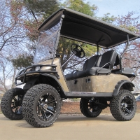 EZ-GO Lifted Forest Camo 36 Volt Electric Golf Cart