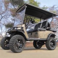 EZ-GO Lifted Forest Camo 36 Volt Electric Golf Cart