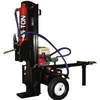 Newly Designed 45 Ton 15 HP Motor Log Splitter