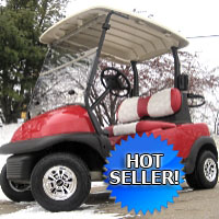 48V Club Car Precedent Golf Cart w/ Golf Ball Seats
