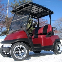 48V Club Car Precedent Golf Cart - Sun Shine Edition