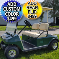 48v Electric Golf Cart Club Car DS