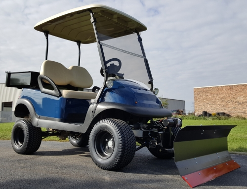 48v Club Car Precedent Golf Cart 6 Lift Kit With Custom Knobby Tires