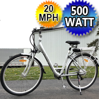 500 Watt Electric Bicycle with Lithium Battery Mountain Bike