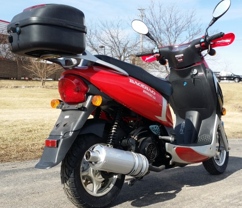 50cc 4 stroke boom vip moped scooter order online now or call 1 866 606 3991 sciox Gallery