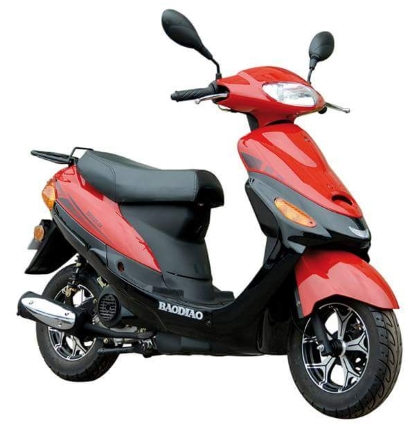 50cc 4 stroke boom moped scooter pyt. Black Bedroom Furniture Sets. Home Design Ideas