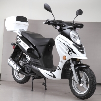 Brand New 50cc Challenger Sport Moped Scooter