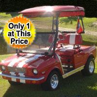 '65 Old Car Custom Club Car Golf Cart