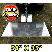 LiftGate Lift Hitch Heavy Duty Vehicle Hitch Lift Gate - 700 lb Capacity