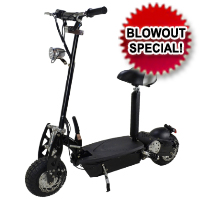 800 Watt Electric Stand Up Sit Down Scooter Moped