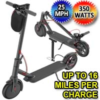350W Electric Folding & Portable Scooter - A11B