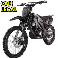 250cc Super Siren 4 Stroke Manual Dirt Bike