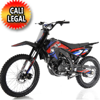 250cc Apollo Cali Legal 4 Stroke Manual Dirt Bike - APOLLO AGB-36N-250cc