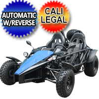 150cc ARROW Go Kart Air Cooled 4 Stroke Go Kart