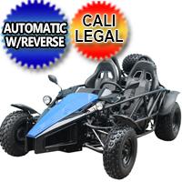 150cc ARROW Go Kart Air Cooled 4 Stroke Go Kart