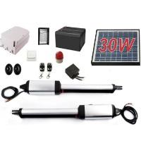 Heavy Duty Solar Dual Swing Gate Opener + Accessories