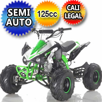 125cc 4 Stroke Single Cyclinder Semi Automatic Sport ATV - ATV-120-125