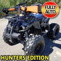 "125cc Hunters Edition Four Wheeler Coolster 125cc Fully Automatic Mid Size ATV Four Wheeler w/ Large 19"" Tires - ATV-3125XR8-U-HUNTERS-EDITION"