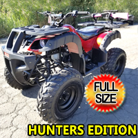 150cc Coolster Hunters Edition Atv Fully Automatic Full Size Quad - ATV-3150DX4-HUNTERS-EDITION