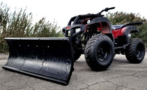 150cc Atv With Snow Plow - Snow Blizzard Fully Automatic Atv With Reverse