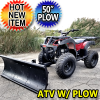 Atv Stores Near Me >> Atv With Snow Plow Atv With Plow For Sale 4 Wheeler And