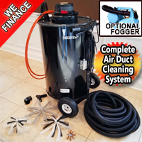 Air Duct Pro Cleaning Machine & Dryer Vent Cleaning Machine
