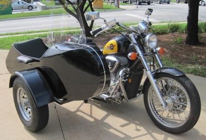 Euro RocketTeer Side Car Motorcycle Sidecar Kit - All Suzuki Models
