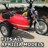 RocketTeer Side Car Motorcycle Sidecar Kit - All Aprilia Models