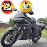 125cc Samurai Street Bike 4 Speed Manual Motorcycle Scooter