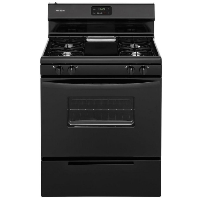 "Frigidaire FFGF3012TB 30"" Black Freestanding Gas Range - New w/Tiny Cosmetic Blemish"