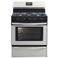"Frigidaire FFGF3052TS Stove 30"" Stainless Steel Freestanding Gas Range - New w/Tiny Cosmetic Blemish"