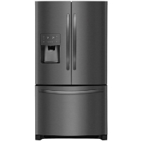 "Frigidaire FFHB2750TD Refrigerator 26.8"" cu.ft. Black Stainless Steel French Door Fridge - New w/Tiny Cosmetic Blemish"