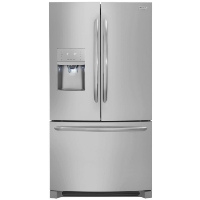 "Frigidaire FGHB2868TF Refrigerator 26.8"" cu.ft. Stainless Steel French Door Fridge - New w/Tiny Cosmetic Blemish"