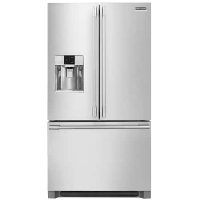 Frigidaire FPBC2278UF Professional Refrigerator 21.6 Cu. Ft. Stainless Steel French Door Counter-Depth Fridge - New w/Tiny Cosmetic Blemish