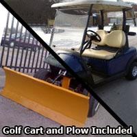Club Car Precedent Electric 48v Golf Cart w/Plow