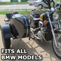 Euro RocketTeer Side Car Motorcycle Sidecar Kit - All BMW Models