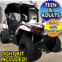 Brand New 300cc Challenger UTV Side by Side Utility Vehicle