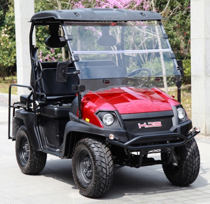 Gas Golf Cart Utv Hybrid Linhai Horn 200 Gvx 4 Seater Side By