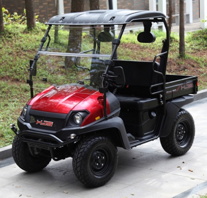 Brand New Gas Golf Cart Utv Hybrid Linhai Horn 200 Vx Side By