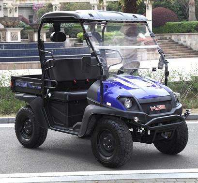Brand New Gas Golf Cart UTV Hybrid Linhai Big Horn 200 VX Side by Side UTV