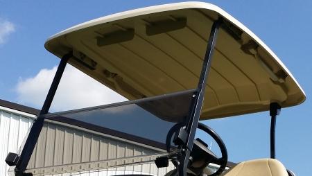 48v Black Golf Cart Electric Club Car Precedent