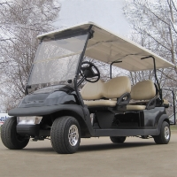 6 Seater Black Panther Stretch Limo Club Car Golf Cart