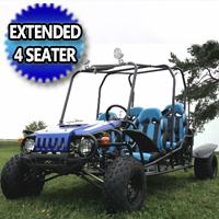 Brand New 150cc Extended Wrangler 4 Seater Go kart