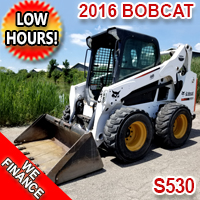 2016 BOBCAT S530 Amazing Condition ONLY 3900 Hours