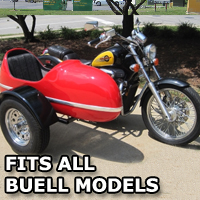RocketTeer Side Car Motorcycle Sidecar Kit - All Buell Models