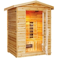 Burlington 1-2 Person Outdoor Infrared Sauna