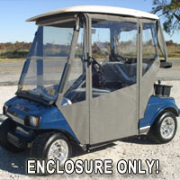 Brand New Vinyl Club Car DS 2000+ Golf Cart Enclosure