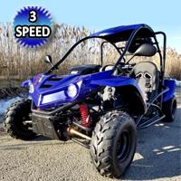 125cc Go Kart T-REX Model - Mid Size With Elec. Start - T-REX 125cc