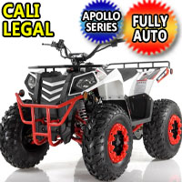 Commander 200cc ATV Automatic w/Reverse 4 Stroke Apollo Series ATV - COMMANDER 200CC