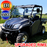 650cc 4x4 UTV Utility Vehicle w/ Disc Brakes - Comrade 650